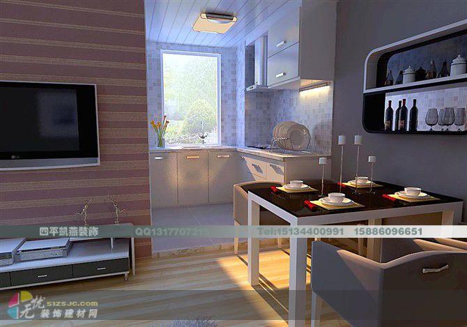 小户型设计 凯燕装饰作品 家居设计图库 效果图,实景图,样板间,建